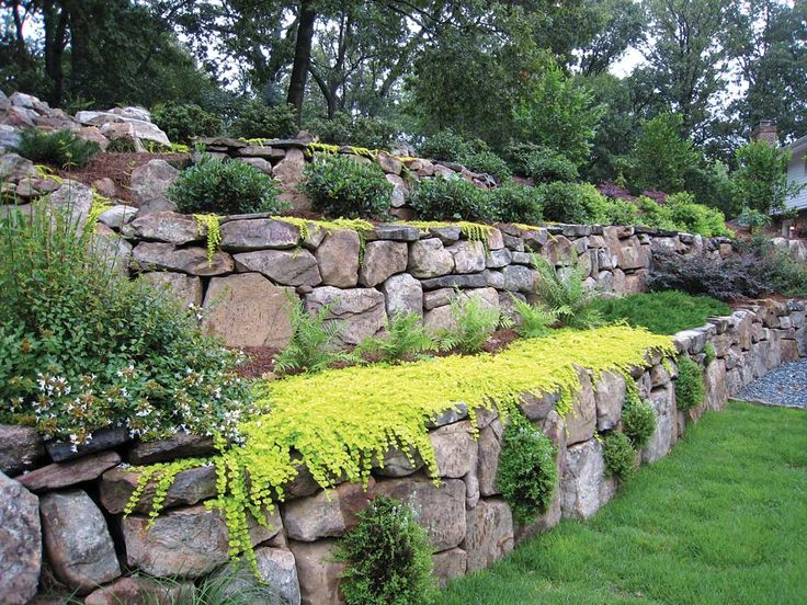 Revamping the beauty of your residential or commercial for Hillside rock garden designs